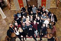 Участники кастинга. Пресс-ужин в замке реалити-шоу