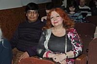 Мария Арбатова с супругом. Вечер, посвященный 40-л