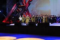 Группа «Александров-Парк» и духовой оркестр суворо