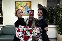 Елена Захарова, Сергей Шакуров, Анастасия Макеева.