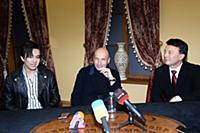 Пресс-конференция Димаша Кудайбергена и Игоря Крутого