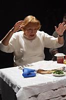 Елена Санаева. Пресс-показ спектакля «Фаина. Эшело