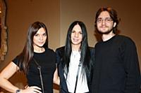 Надежда Бойко с супругом Владимиром и дочерью Ксен