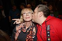 Любовь Воропаева с супругом. Презентация дебютного