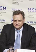 Георгий Сапронов. Пресс-конференция, посвящённая м