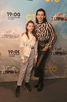 Елена Борщева с дочкой. Премьера нового сериала те