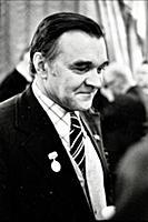 Русский писатель Юрий Бондарев