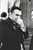 Русский писатель Юрий Бондарев.