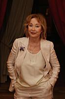 Лариса Удовиченко. Съемки передачи «Приют комедиан