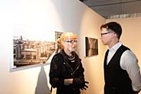Ольга Свиблова, Сергей Пономарев. Открытие выставк