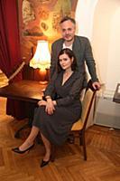 Дарья Калмыкова, Николай Сергеев. Съемки передачи