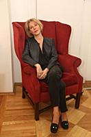 Юлия Рутберг. Съемки передачи «Приют комедиантов».