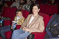 Катерина Шпица с сыном. Премьера фильма «Вратарь Г