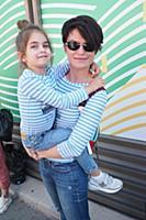 Олеся Витебская с дочкой Вестой. 24-й Фестиваль Ви