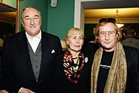 Борис Клюев с супругой, Андрей Житинкин.