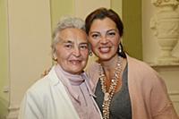 Алиса Толкачева с мамой (Мария Теофильевна Толкаче