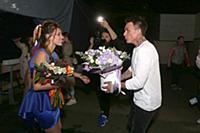 Регина Тодоренко, Влад Топалов. Съемки проекта «Ле