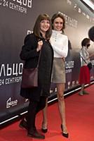Стася Милославская с мамой. Премьера фильма «Стрел