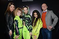Евгения Полищук, Группа «Куклы Crew», Анна Бажанов