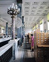 В Государственной библиотеке СССР им. В.И.Ленина. (1973)
