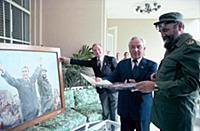 Руководитель делегации Григорий Романов. Визит сов