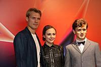 Пресс-конференция, посвященная премьере фильма «Серебряные коньки»