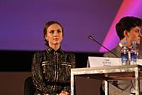 Софья Присс. Пресс-конференция в рамках 42-го ММКФ