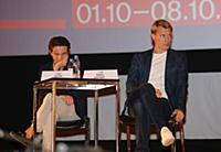 Петр Ануров, Кирилл Зайцев. Пресс-конференция в ра