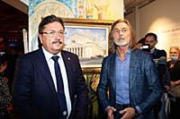 Открытие персональной выставки Никаса Сафронова «Осенняя рапсодия»