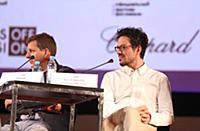 Брайан Вайнер, Александр Йордаческу. Пресс-конфере