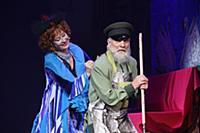 Лариса Удовиченко. Спектакль «12 стульев» в театре