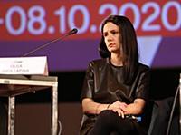 Ольга Озоллапиня. Пресс-конференция в рамках 42-го