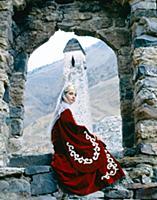 В горах Чечни и Ингушетии, СССР.