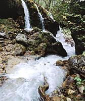 Три водопада. В горах Чечни и Ингушетии. СССР. 198