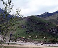 Рядом с домом. В горах Чечни и Ингушетии. СССР. 19