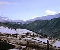 Зима. В горах Чечни и Ингушетии. СССР. 1980-1981 г