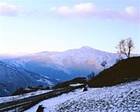 Рассвет. Первые лучи. В горах Чечни и Ингушетии. С