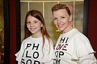 Валерия Кумпф с дочерью Мартиной. Закрытый показ м