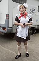 Марина Федункив. Съемки фильма «Прабабушка легкого