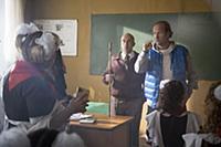 Дмитрий Нагиев, Марюс Вайсберг. Съемки фильма «Пра