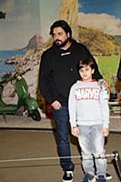 Александр Бердников с сыном Марселем. День рождени