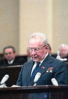 На трибуне Алексей Николаевич Косыгин Председатель