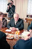 Михаил Порфирьевич Георгадзе, секретарь Президиума