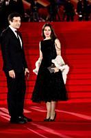 Алан Догузов с супругой. Церемония закрытия 42-го