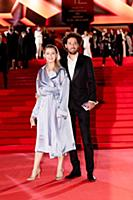 Дмитрий Романов с супругой. Церемония открытия 42-