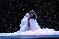 Мария Свирид. Прогон спектакля «Лев зимой». ДК «Ст