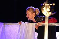 Анна Якунина. Прогон спектакля «Лев зимой». ДК «Ст