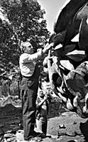 Зураб Церетели за работой. 1990-е годы (При исполь