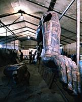 Работы в мастерской, Зураб Церетели. 1990-е годы (