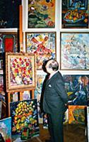 Джек Мэтлок, посол США в СССР в мастерской Зураба